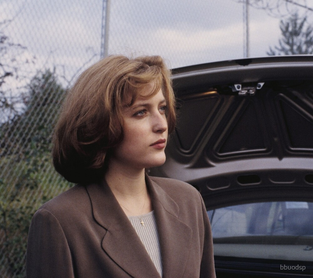Dana Scully in show  by bbuodsp