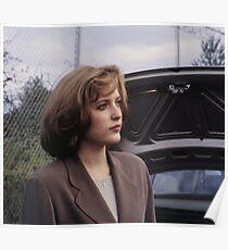Dana Scully in show  Poster