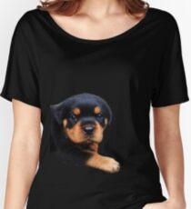 Rottweiler Puppies Women's Relaxed Fit T-Shirt