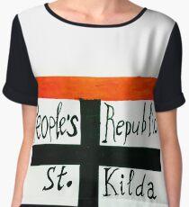 Peoples Republic of St Kilda 2 Chiffon Top