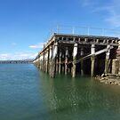 Wharf  by Bowen Bowie-Woodham