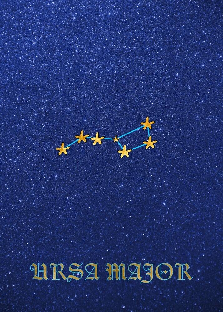 Constellations - URSA MAJOR by Hell-Prints