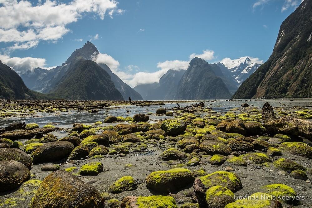 Milford Sound by Govinda Niels Koervers