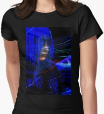 Freeway Meditation Women's Fitted T-Shirt