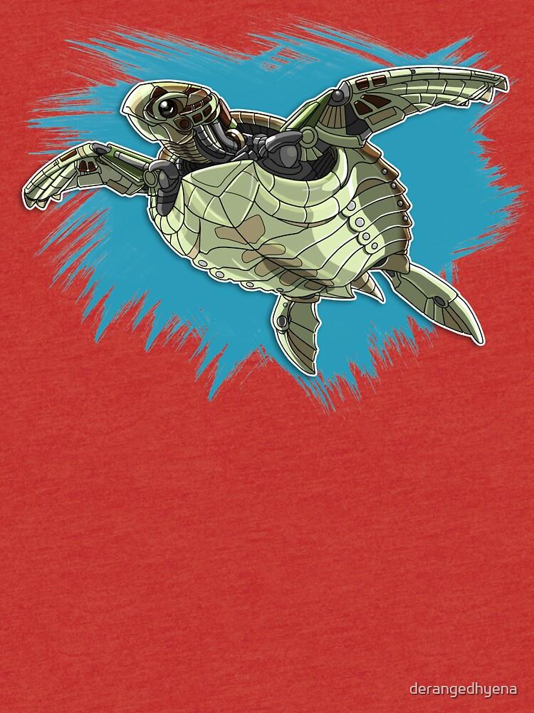 Mechanimal - Sea Turtle by derangedhyena