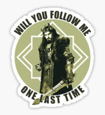 Will You Follow Me Sticker