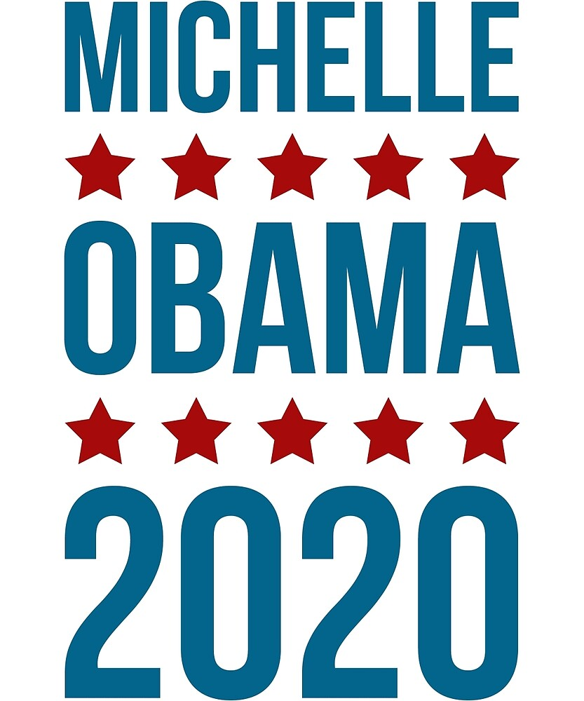 MICHELLE OBAMA 2020 by httdesign
