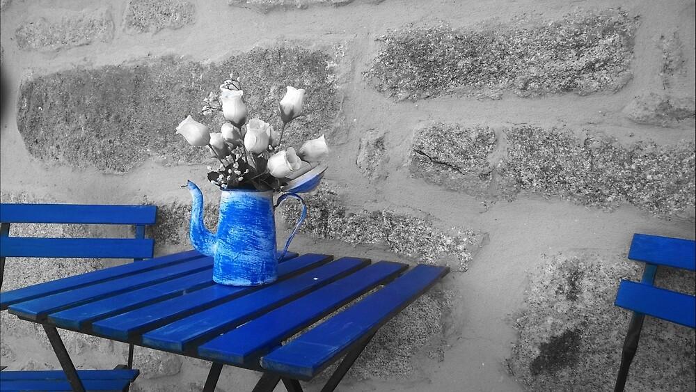 Blue is your color by Miguel López Pérez