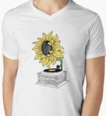 Singing in the sun Men's V-Neck T-Shirt