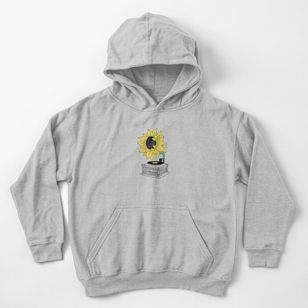 Singing in the sun Kids Pullover Hoodie