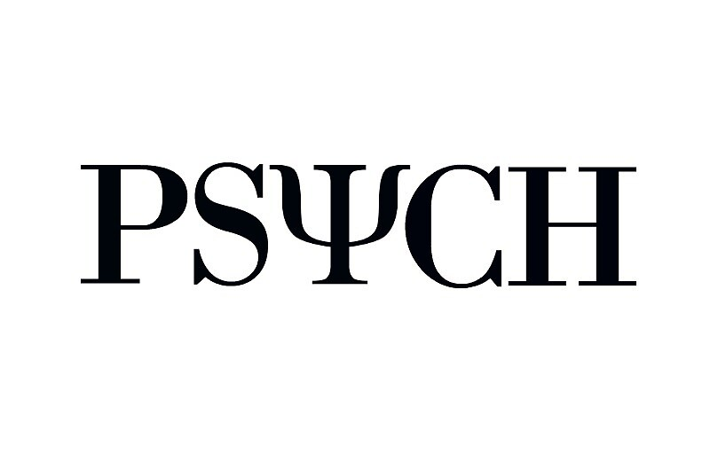 Psych Symbol Sticker by Maddy Sylvester