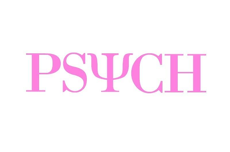 Pink Psych Symbol Sticker by Maddy Sylvester
