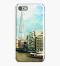 The Shard and The Thames - London iPhone Case/Skin