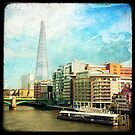 The Shard and The Thames - London by Marc Loret