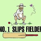 No.1 Slips Fielder. by Jed Dunstan
