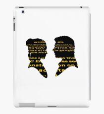 Han and Leia - Return iPad Case/Skin
