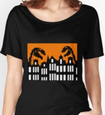 Dinosaurs in Amsterdam Women's Relaxed Fit T-Shirt