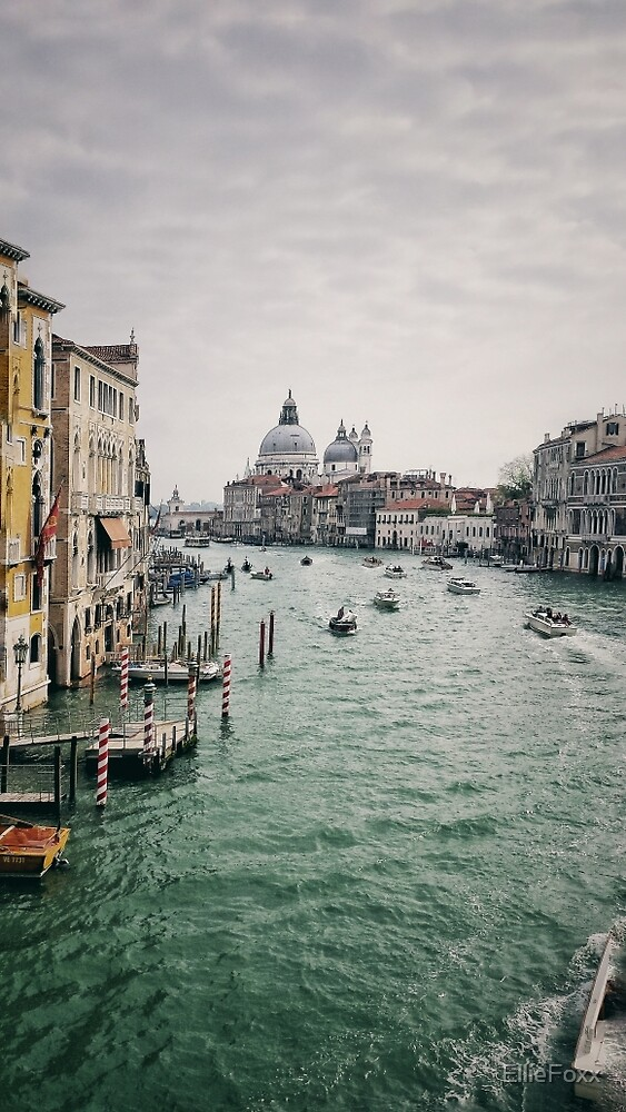 Venice, Italy, Canal Grande View by EllieFoxx
