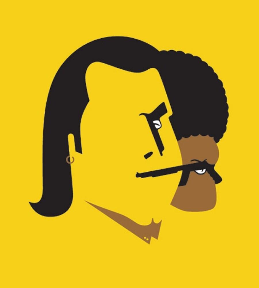 Funky Pulp Fiction! by Berkaneismael