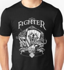 RPG Class Series: Fighter - White Version T-Shirt