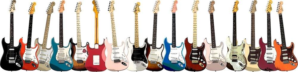 Fender Stratocaster by pjtees