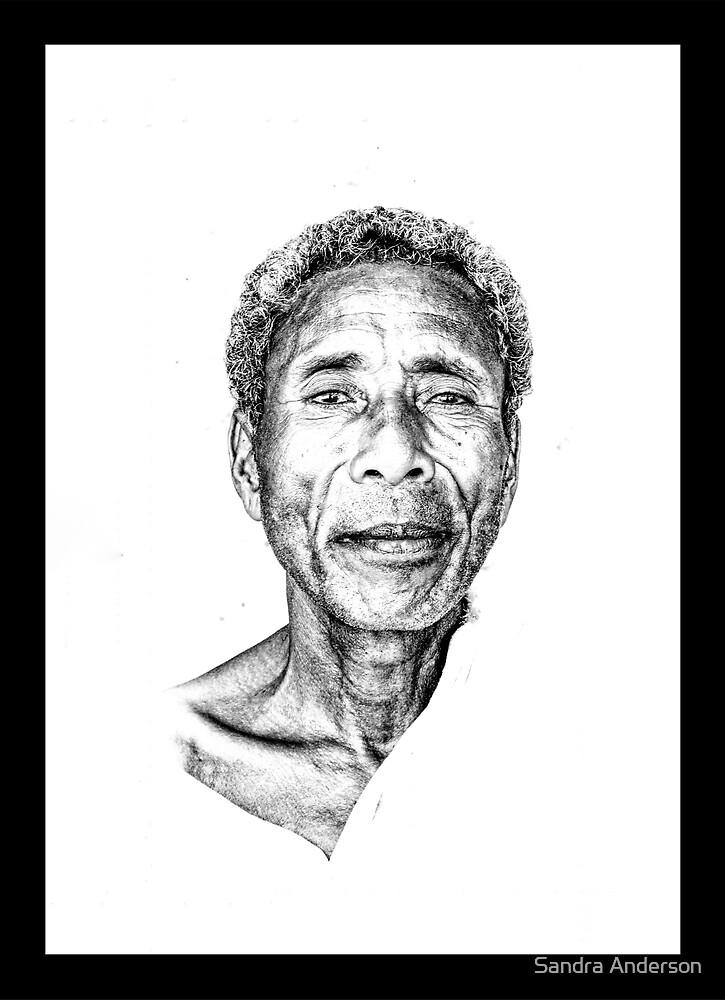 Tribal Elder by Sandra Anderson