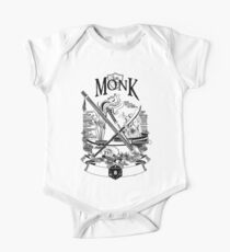 RPG Class Series: Monk - Black Version Kids Clothes