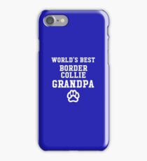 World's Best Border Collie Grandpa iPhone Case/Skin