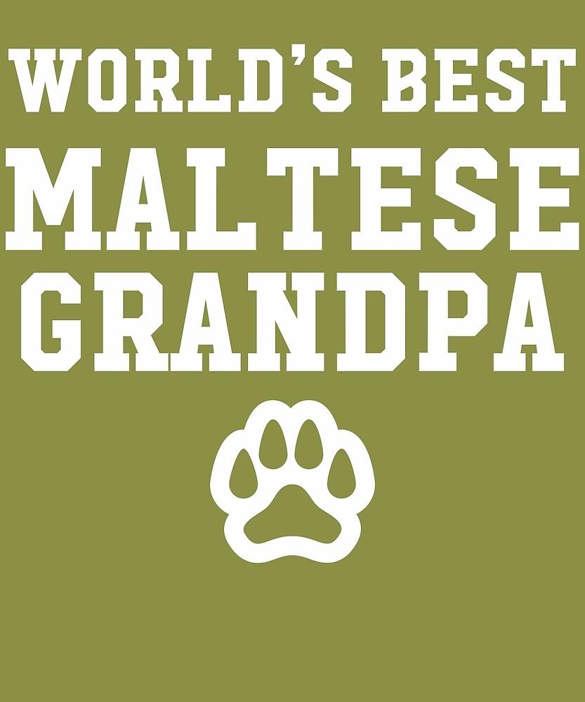 World's Best Maltese Grandpa by AlwaysAwesome