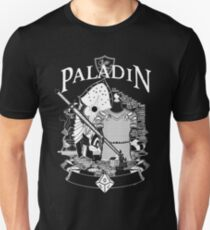 RPG Class Series: Paladin - White Version T-Shirt