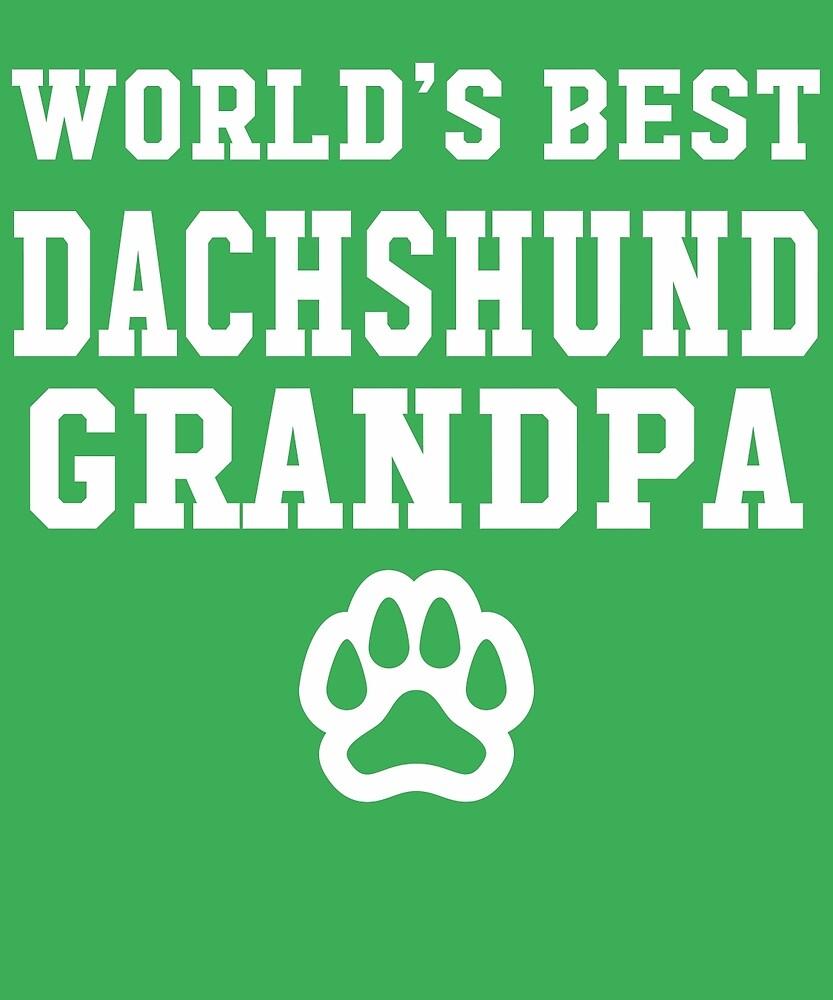 World's Best Dachshund Grandpa by AlwaysAwesome