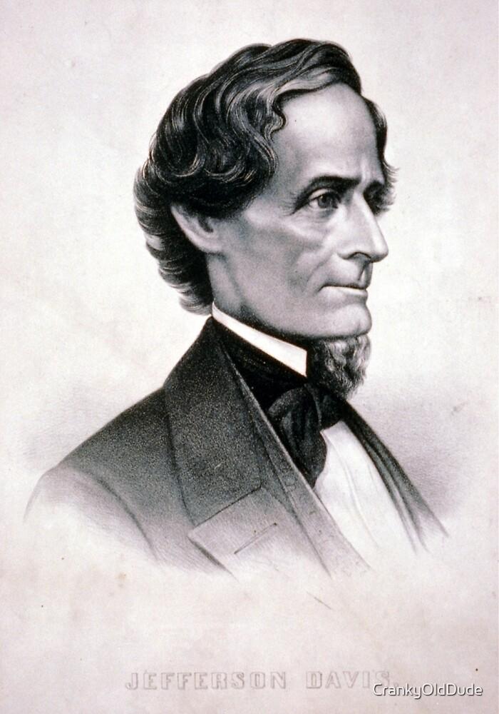 Jefferson Davis - 1856 - Currier & Ives by CrankyOldDude