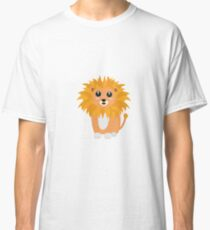 Cute kawaii lion Classic T-Shirt