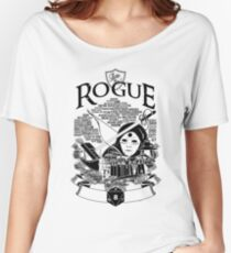 RPG Class Series: Rogue - Black Version Women's Relaxed Fit T-Shirt