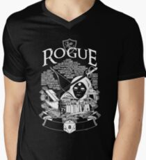 RPG Class Series: Rogue - White Version Men's V-Neck T-Shirt