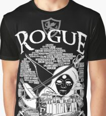 RPG Class Series: Rogue - White Version Graphic T-Shirt