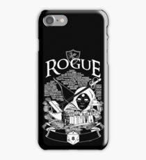 RPG Class Series: Rogue - White Version iPhone Case/Skin