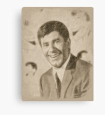 Jerry Lewis, Actor and Comedian Canvas Print