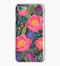 Night Blossom art print iPhone Case/Skin