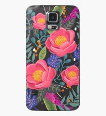Night Blossom Kunstdruck Hülle & Klebefolie für Samsung Galaxy