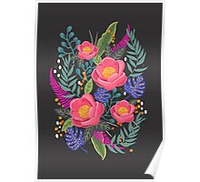 Night Blossom art print Poster