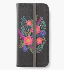 Night Blossom art print iPhone Wallet/Case/Skin