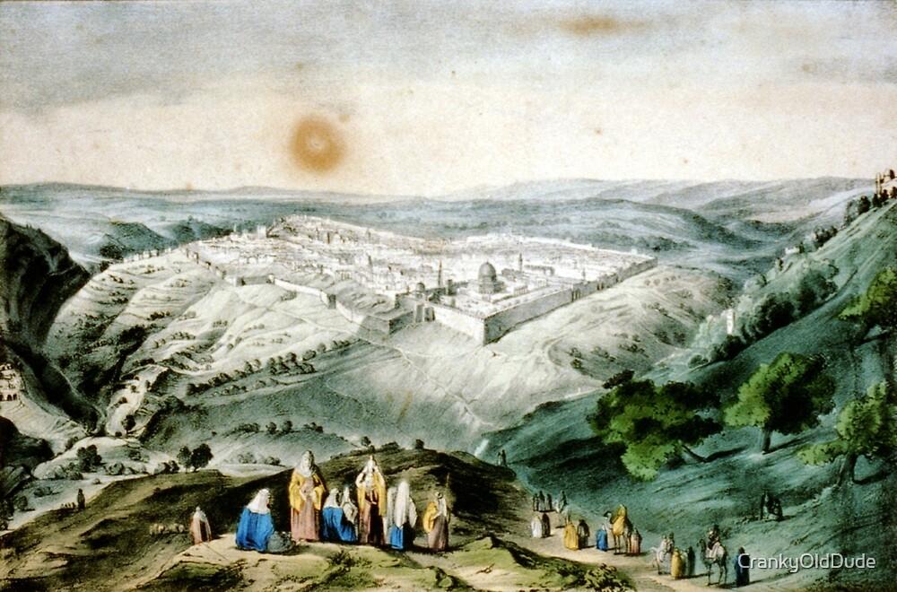 Jerusalem - 1846 - Currier & Ives by CrankyOldDude