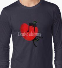 Double cat whammy cool t- shirt design T-Shirt
