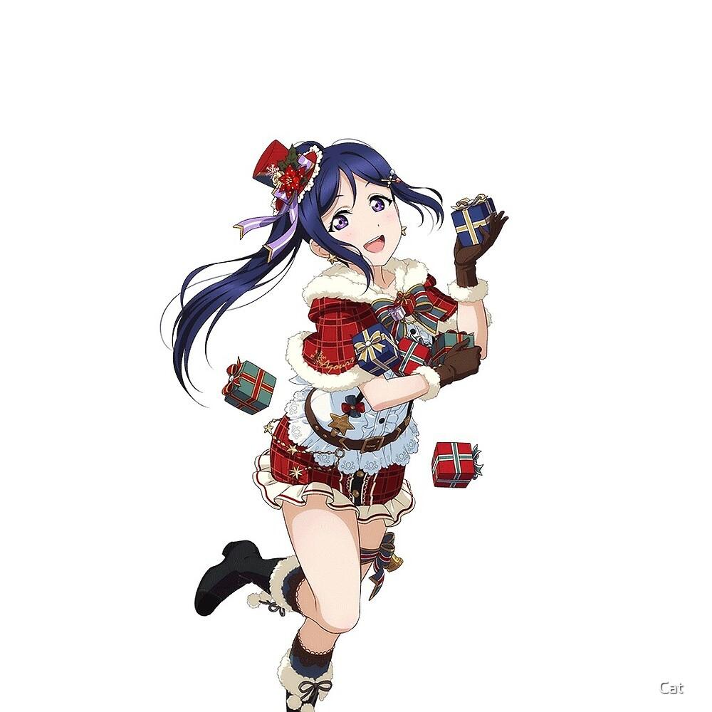 Matsuura Kanan Christmas Set Sticker by Cat ☆