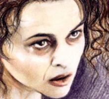 Helena Bonham-Carter miniature  HBC3 Sticker