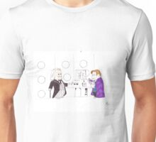 whodipose in space in time Unisex T-Shirt