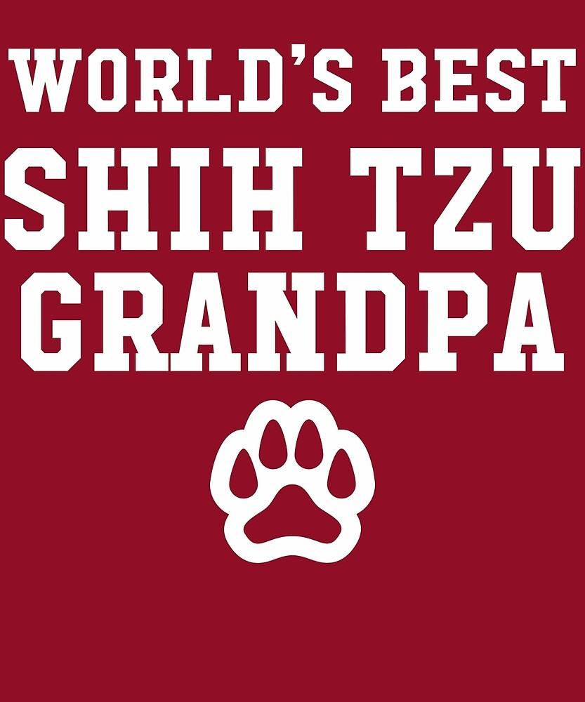 World's Best Shih Tzu Grandpa by AlwaysAwesome