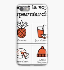A trip to the supermarket (Foux du fafa!) iPhone Case/Skin