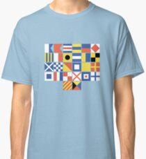 Nautical Flags Classic T-Shirt